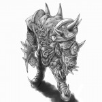 Демон минотавр